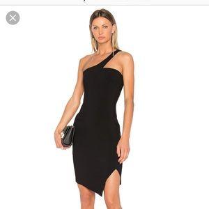 NWT Likely women's cerise dress in black
